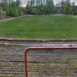 Cathkin Park's remains from the East terracing. The main stand has long since been removed. (Source: John McKnight)