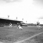 Third Lanark vs Hibs at Cathkin Park, 1964 (Source: James H - Urban Glasgow)