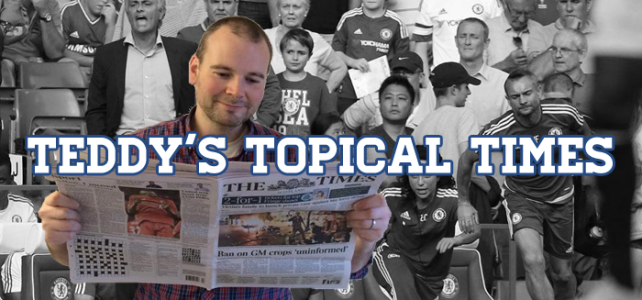 Teddy's Topical Times: How Do You Solve A Problem Like Mourinho?