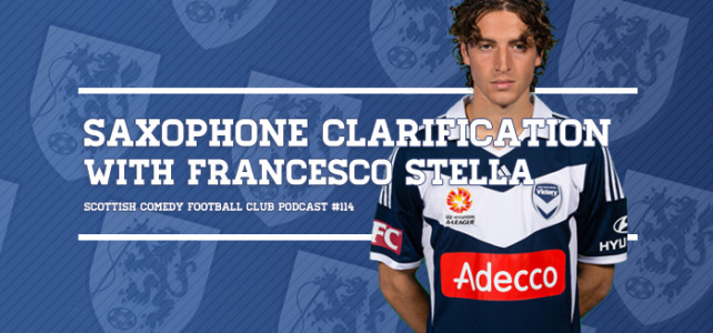 NEW POD: Listen To 'Saxophone Clarification with Francesco Stella' Now!